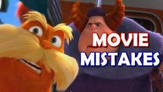 Ultimate THE LORAX MOVIE MISTAKES, , Facts, Scenes, Bloopers, Spoilers and Fails