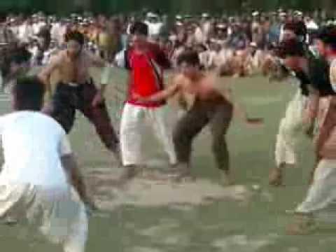 Kabadi Match in Village Tappi, North Waziristan Agency