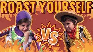 ROAST YOURSELF Toy Story 4 BUZZ LIGHTYEAR vs WOODY