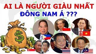 So Găng Tỷ Phú Đô La Các Nước Đông Nam Á