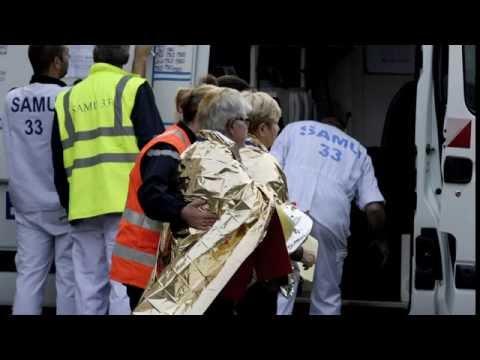 42 dead in France bus-truck crash