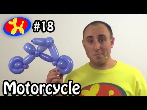 Balloon Motorcycle / Bicycle