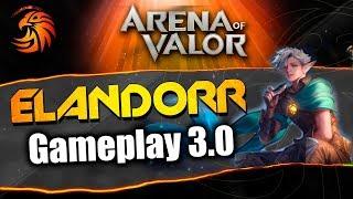 AoV Jugamos ELANDORR en el NUEVO PARCHE | Arena Of Valor | DayMelto Gameplay Español