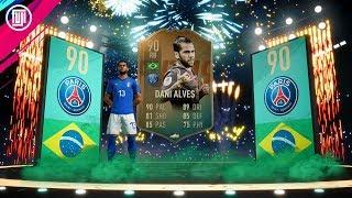 SCREAMER!!!! FLASHBACK DANI ALVES!!! - FIFA 19 Ultimate Team