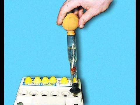 Ареометр для электролита измеряем плотность АКБ