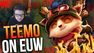 Incredibly Skilled Teemo Player on EUW | Dyrus