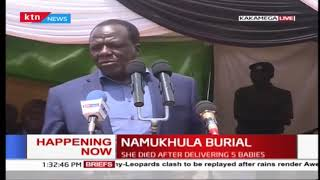 Everlyne Namukhula who gave birth to 5 babies laid to rest