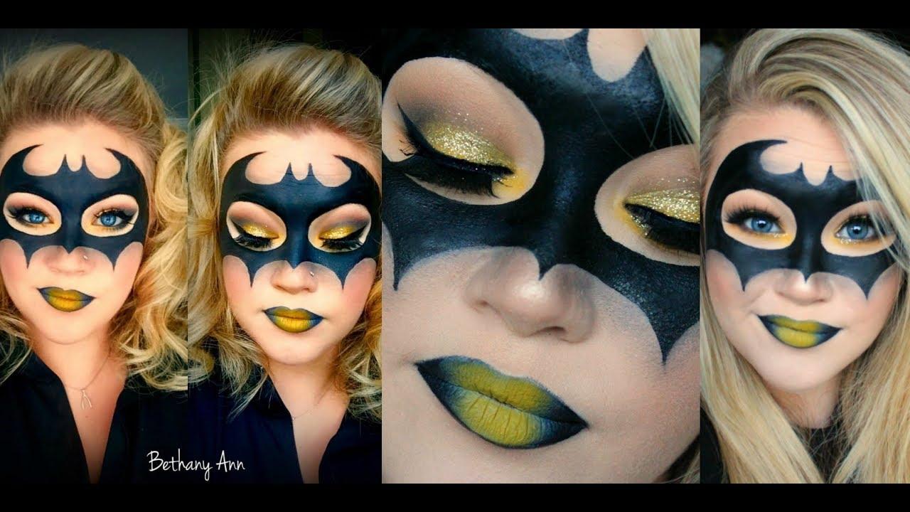 Batman eye makeup