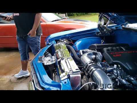 chevelle ss 1971 & 1972 on forgiato wheels
