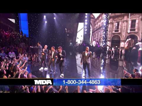 Backstreet Boys in A World Like This - 2013 Mda Telethon Performance video