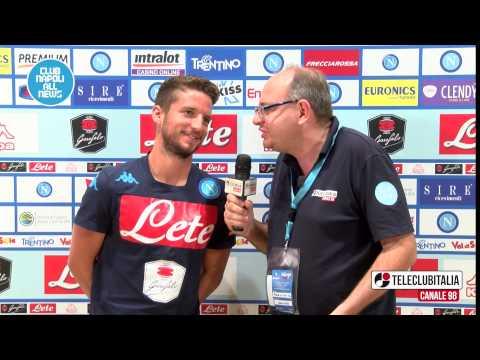 """Dries Mertens in esclusiva su TeleClubItalia:"""" Amo Napoli e questa maglia"""""""