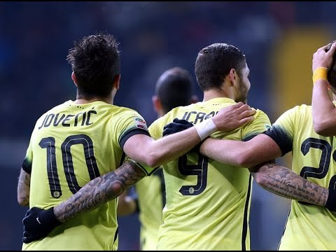 Mauro Icardi And Stevan Jovetić vs Udinese(12/12/2015)15-16 HD 720p by轩旗