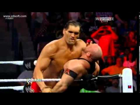The Great Khali vs. Ryback