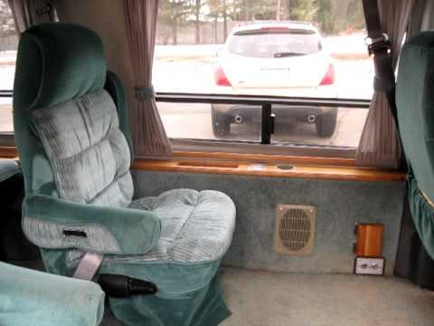 1992 Ford E 150 Conversion Van Interior 2 Youtube