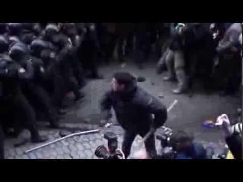 Revolution in Ukraine   Protest Against Police