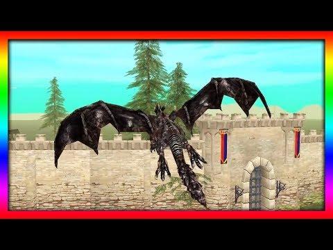 СИМУЛЯТОР ДРАКОНА #5 СЮРПРИЗ в стране РЫЦАРЕЙ игра про драконов ДЕТСКИЕ ИГРЫ