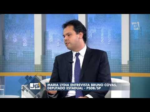 Jornal da Gazeta - Maria Lydia entrevista Bruno Covas, deputado estadual - PSDB/SP (26/05/14)