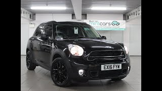 For Sale - EX16FYW - MINI COUNTRYMAN COOPER SD AUTO 5 DOOR HATCHBACK BLACK HEAVY OIL 2016