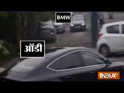 Hi-tech Car Theft in Noida Caught on Camera