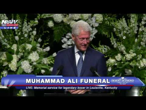 CHILLING: The Bill Clinton Speech That YOU Need To See - Muhammad Ali Funeral