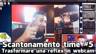 Scantonamento time #4, Trasformare una reflex in webcam