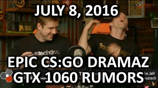 The WAN Show - Fingernail-sized SSD and CS:GO Drama! - July 8th, 2016