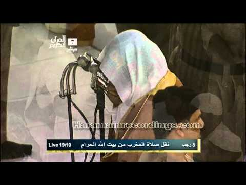 {HD} *EMOTIONAL* Makkah Maghrib 29th May 2012