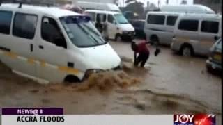 Several Accra suburbs inundated after hours of rains - Joy News (5-6-14)