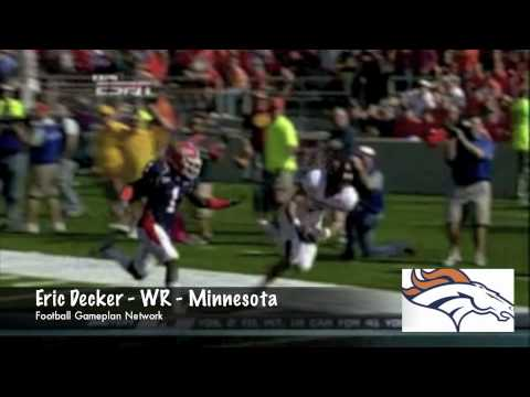 Football Gameplan's 2010 NFL Draft Grades - Denver Broncos Video