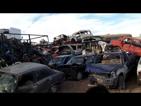 Depósito de automotores secuestrados.