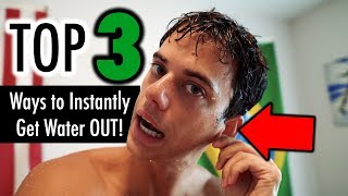 How to Get Water Out of Your Ears - TOP 3 WAYS