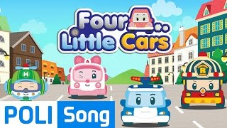 01.Four little cars | Robocar Poli Educational Nursery Rhymes