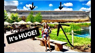 WE WENT TO NOAH'S ARK!! || ARK ENCOUNTER || KENTUCKY TRAVEL VLOG