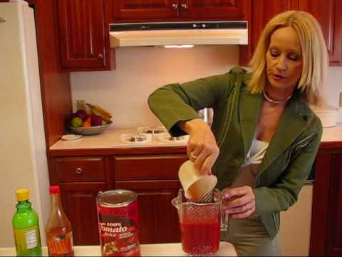 Betty's Refreshing Tomato Juice Cocktail Recipe
