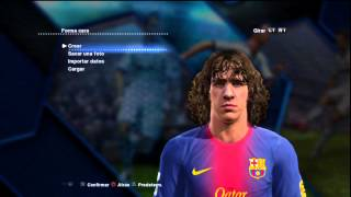 PES 2013   ALL FACES   TODAS LAS CARAS   Real Madrid & Barcelona   HD   By DjMaRiiO