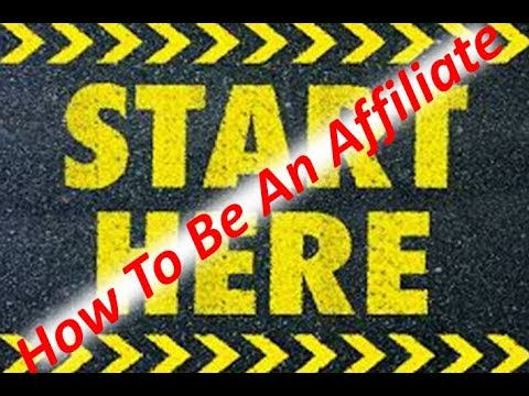 How To Be An Affiliate-Here's How To Start Affiliate Marketing For Free!