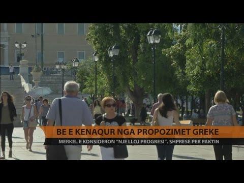 BE e kënaqur nga propozimet greke - Top Channel Albania - News - Lajme