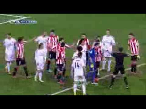 Athletic Bilbao Vs Real Madrid 1-1 | Cristiano Ronaldo Red Card - February 2 2014 HD