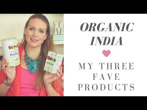 Organic India Product Review: Turmeric Formula, Tulsi Moringa Tea, and Whole Husk Psyllium