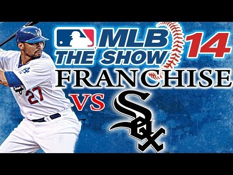 MLB THE SHOW 14 PS3: Los Angeles Dodgers vs Chicago White Sox - Franchise Mode Game
