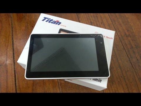 Tablet Titan PC7010B - Análise e Testes