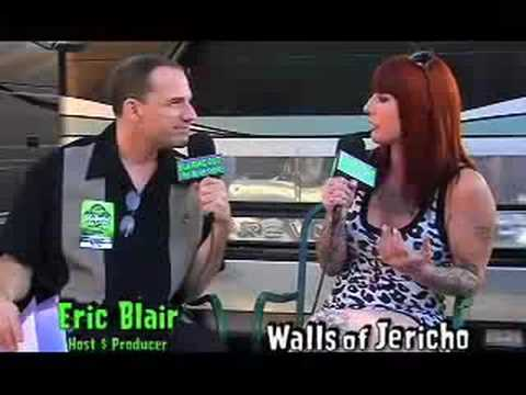 Walls of Jericho talk Love,Make up & Suicide with Eric Blair