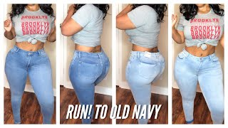 OLD NAVY Has $1 Clothing | Try On Haul Jeans Workout Wear