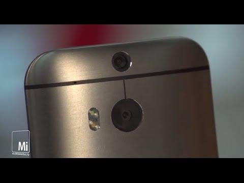 HTC One M8. Вороненая сталь.