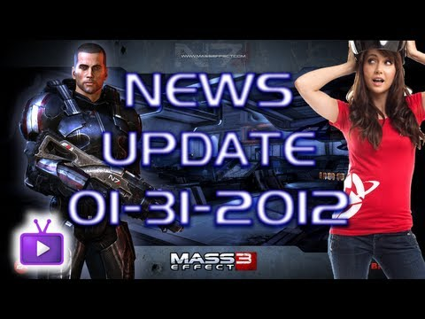 ★ Mass Effect 3 - Voice Cast | Jessica Chobot in ME3! - News! (01/31/2012) - ft. Yong - WAY➚