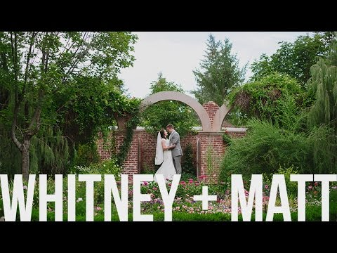 Gorgeous Garden Utah Wedding Video at SLC Temple + Thanksgiving Point