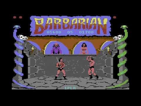 C64 Longplay - Barbarian