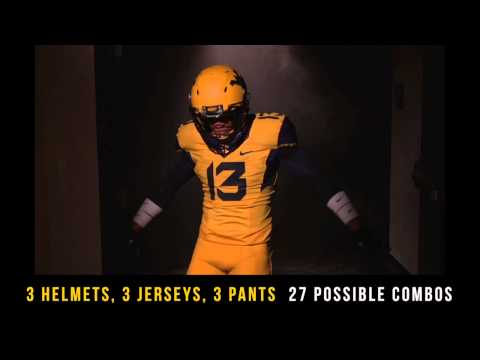 WVU Football: 2013 Uniforms Detailed