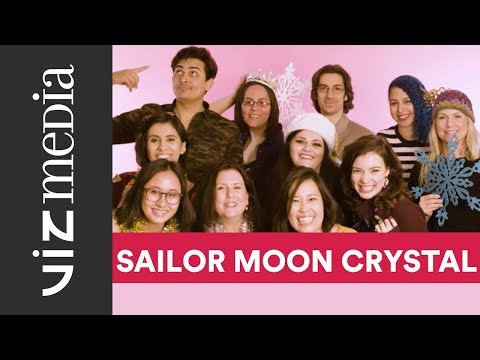 Happy Holidays from the cast of Sailor Moon Crystal