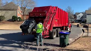 The City Of Roswell Sanitation: Freightliner M2 Pak-Mor Rear Load Garbage Truck